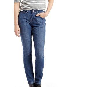 Levis Perfect Waist 525 Straight Leg Jeans